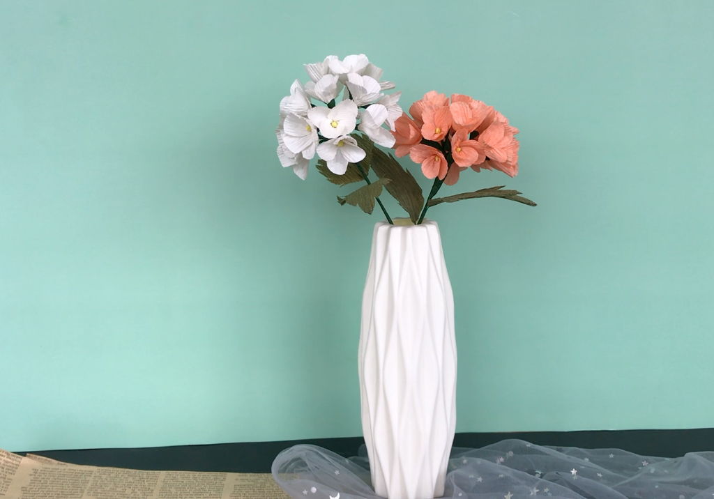 Paper Flower DIY With Me